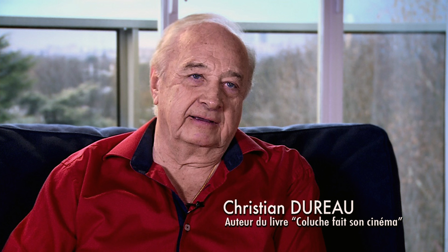 Christian Dureau dans le documentaire Coluche fait son cinéma