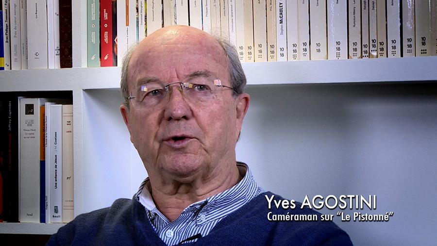 Yves Agostini dans le documentaire Coluche fait son cinéma