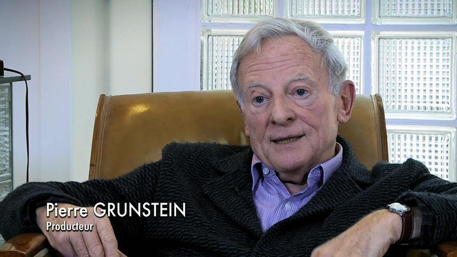 Pierre Grunstein dans le documentaire Coluche fait son cinéma