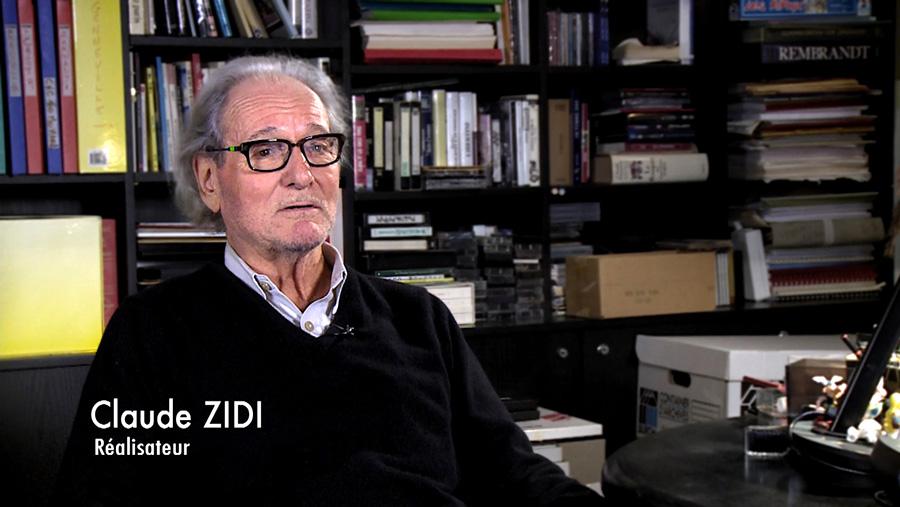 Claude Zidi dans le documentaire Coluche fait son cinéma