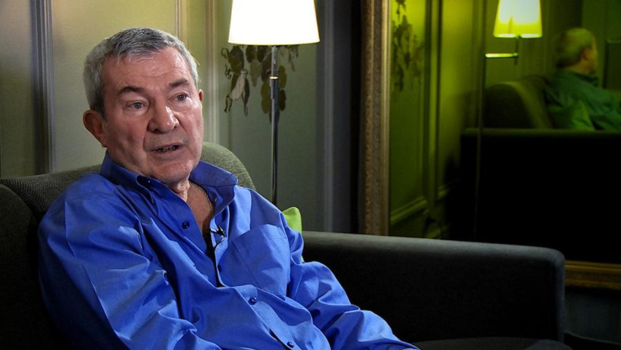 Martin Lamotte dans le documentaire Coluche fait son cinéma