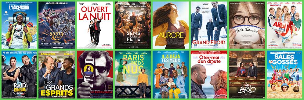 comédies françaises préférées de 2017
