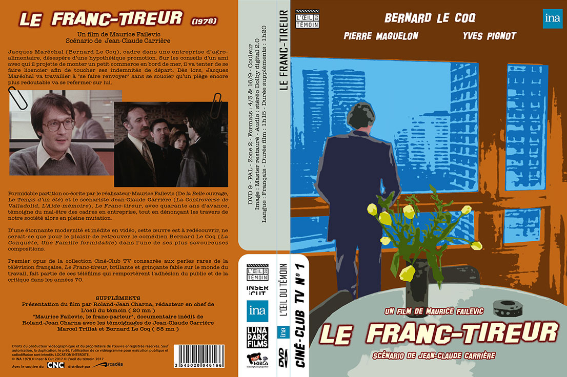 Le Franc-tireur (Maurice Failevic, 1978) - DVD Digipack