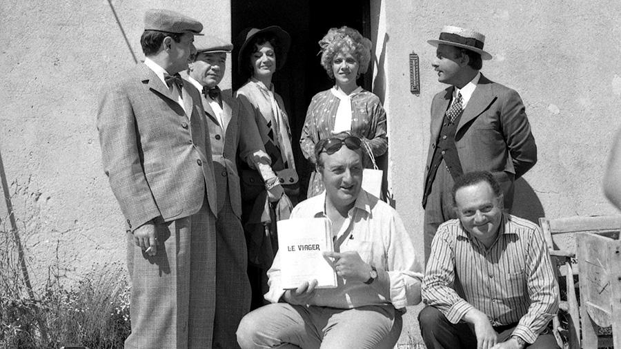 René Goscinny, Pierre Tchernia et ses acteurs sur le tournage du Viager (Pierre Tchernia, 1972) - Bonus Blu-ray