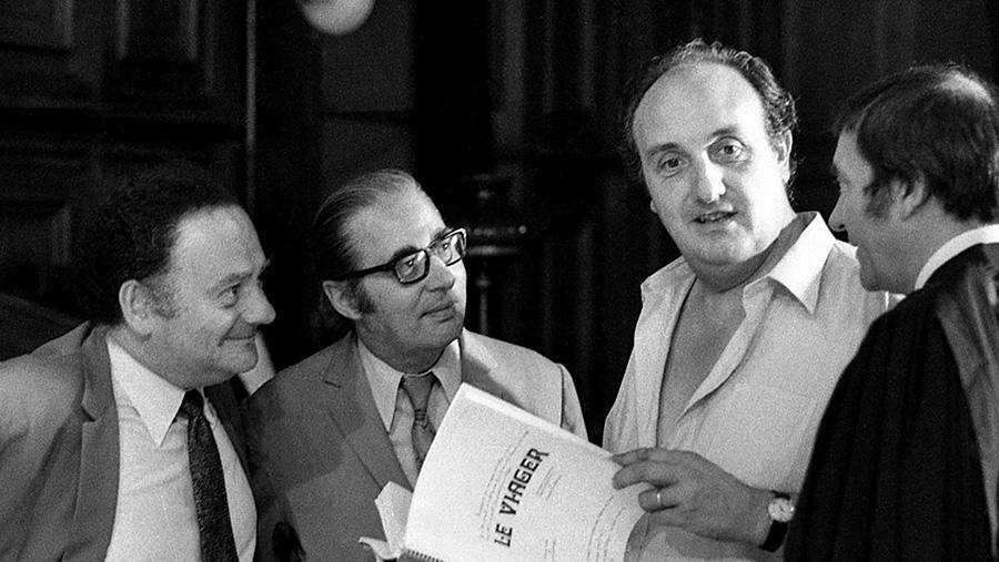 René Goscinny et Pierre Tchernia sur le tournage du Viager (Pierre Tchernia, 1972) - Bonus Blu-ray