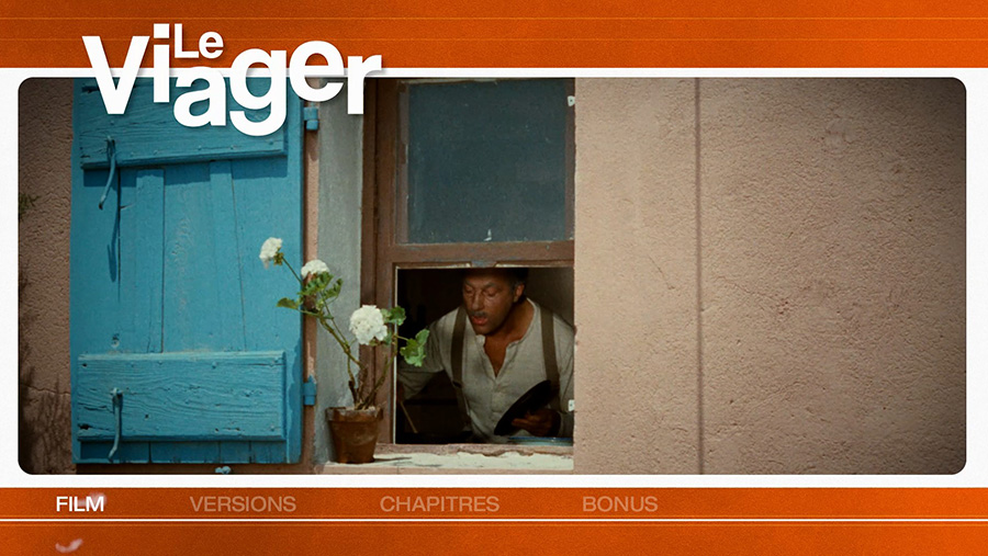 Le Viager (Pierre Tchernia, 1972) - Menu Blu-ray