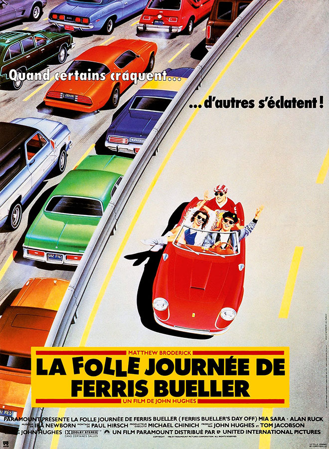 La Folle journée de Ferris Bueller (Ferris Bueller's Day Off) de John Hughes (1986)