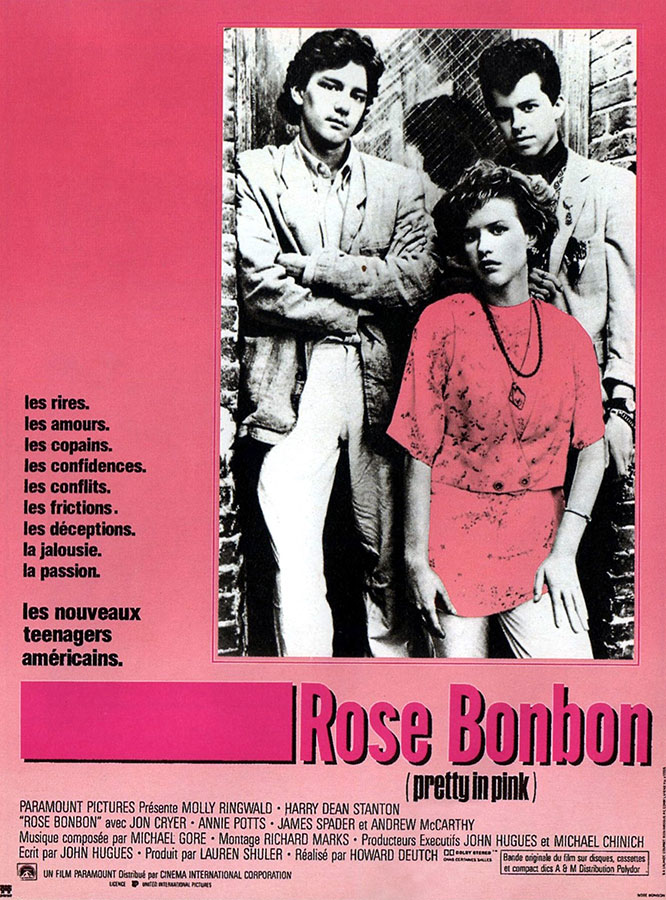 Rose bonbon (Pretty in Pink) de Howard Deutch (1986)