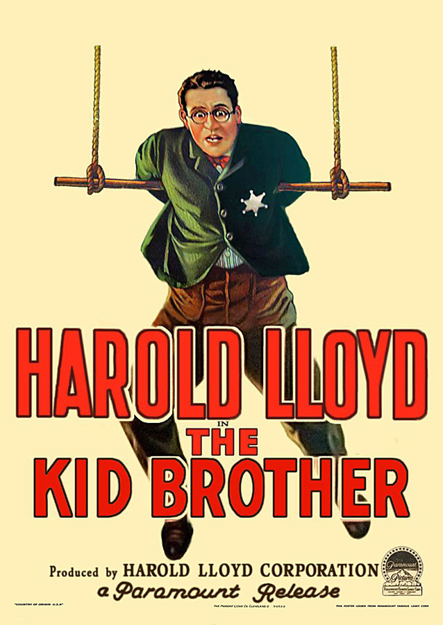 Le Petit frère (The Kid Brother) de Ted Wilde, Harold Lloyd, Lewis Milestone et J.A. Howe (1927)
