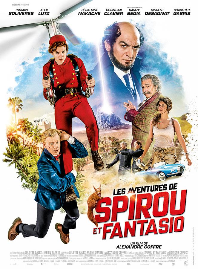 Les Aventures de Spirou et Fantasio (Alexandre Coffre, 2018)