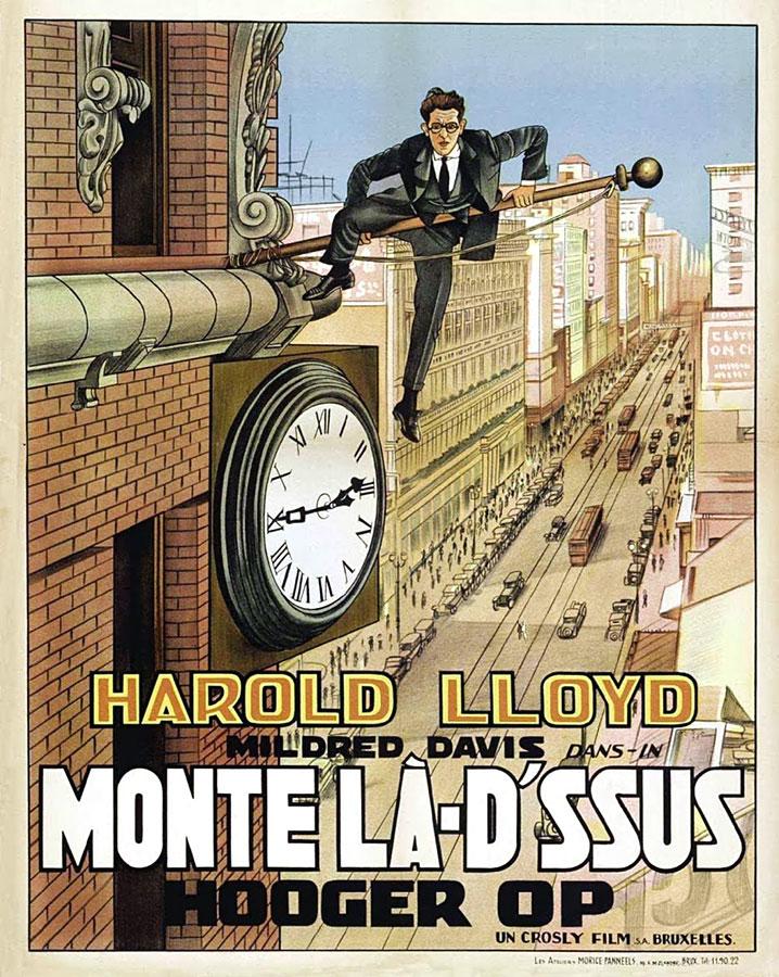 Monte là-dessus (Safety Last) de Fred C. Newmeyer et Sam Taylor (1923)