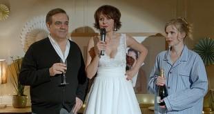 Didier Bourdon, Valérie Bonneton et Isabelle Carré dans Garde alternée (Alexandra Leclère, 2017) - Box-office français du 20 au 26 décembre 2017