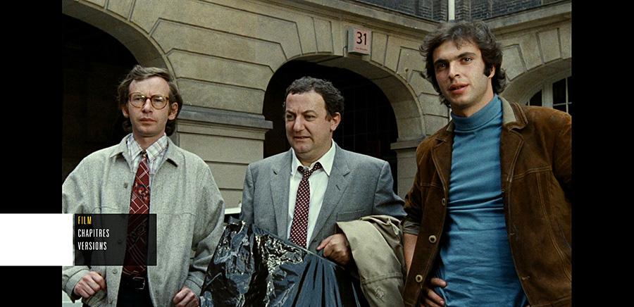 Inspecteur La Bavure (Claude Zidi, 1980) - Menu Blu-ray