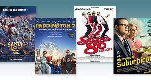 sorties Comédie du 6 décembre 2017 : Santa & Cie, Paddington 2, Stars 80 la suite, Bienvenue à Suburbicon