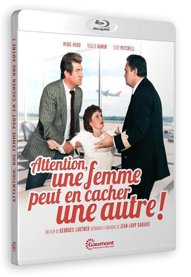 Attention, une femme peut en cacher une autre ! (Georges Lautner, 1983) - Blu-ray