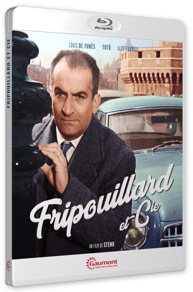 Fripouillard et Cie (Steno, 1959) - Blu-ray