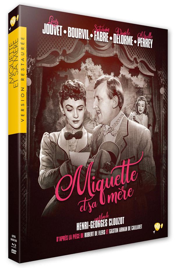 Miquette et sa mère (Henri-Georges Clouzot, 1950) - Blu-ray