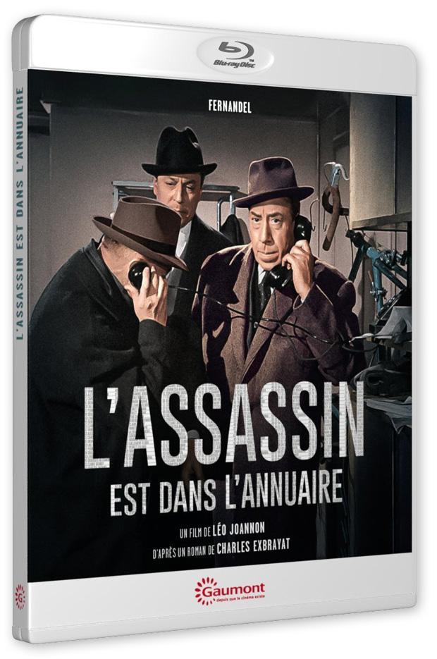 L'Assassin est dans l'annuaire (Léo Joannon, 1962) - Blu-ray