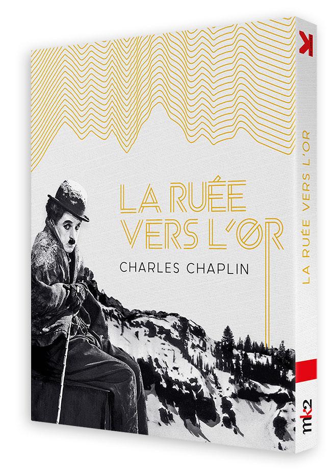 La Ruée vers l'or (Charles Chaplin, 1925) - Blu-ray