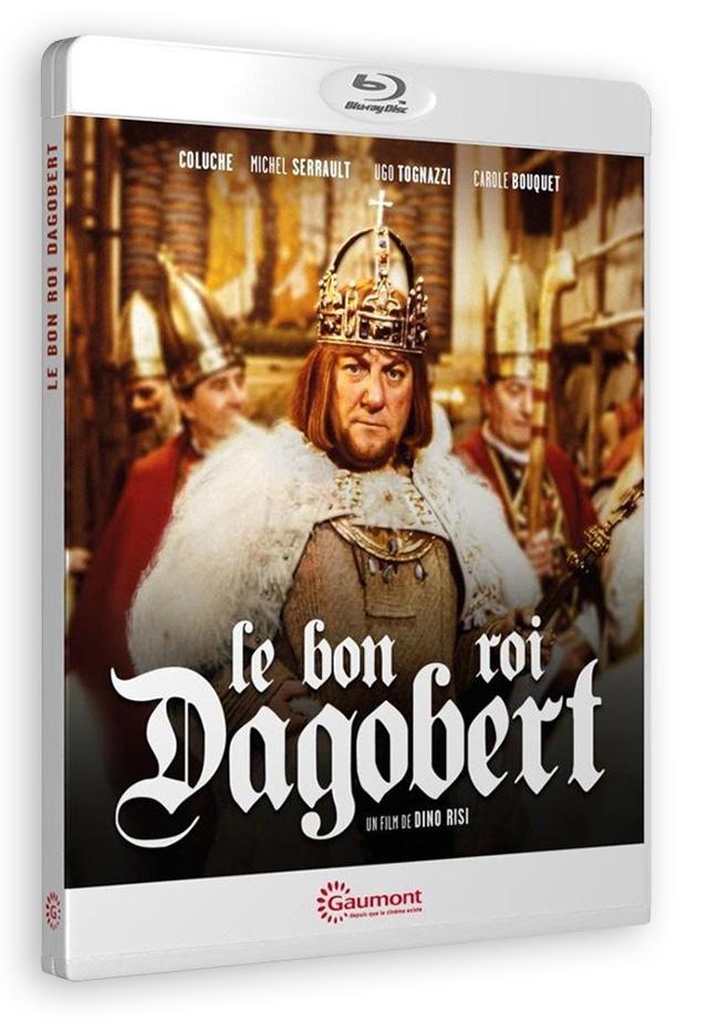 Le Bon roi Dagobert (Dino Risi, 1984) - Blu-ray