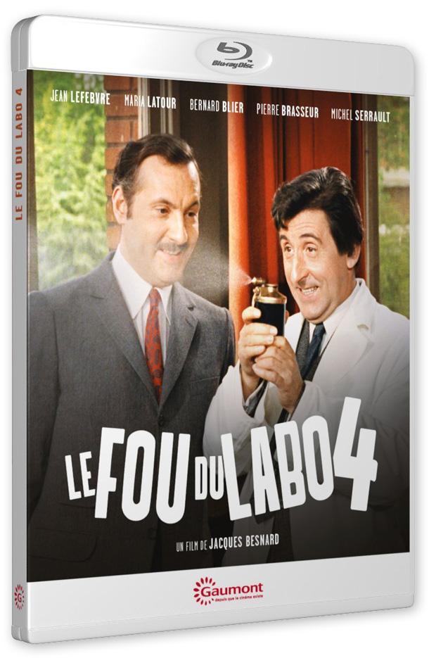 Le Fou du labo 4 (Jacques Besnard, 1967)