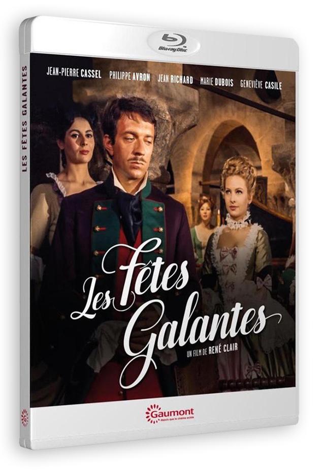 Les Fêtes galantes (René Clair, 1965) - Blu-ray