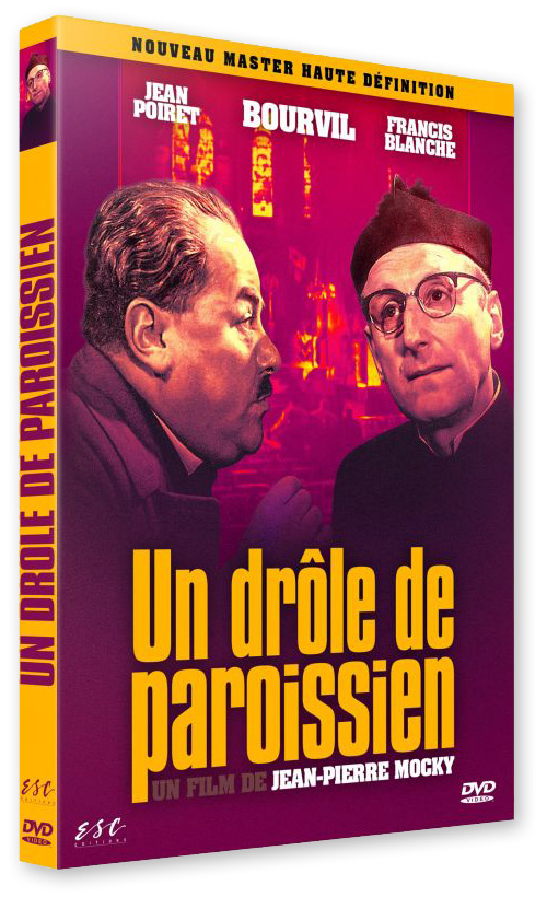 Un drôle de paroissien (Jean-Pierre Mocky, 1963) - Blu-ray