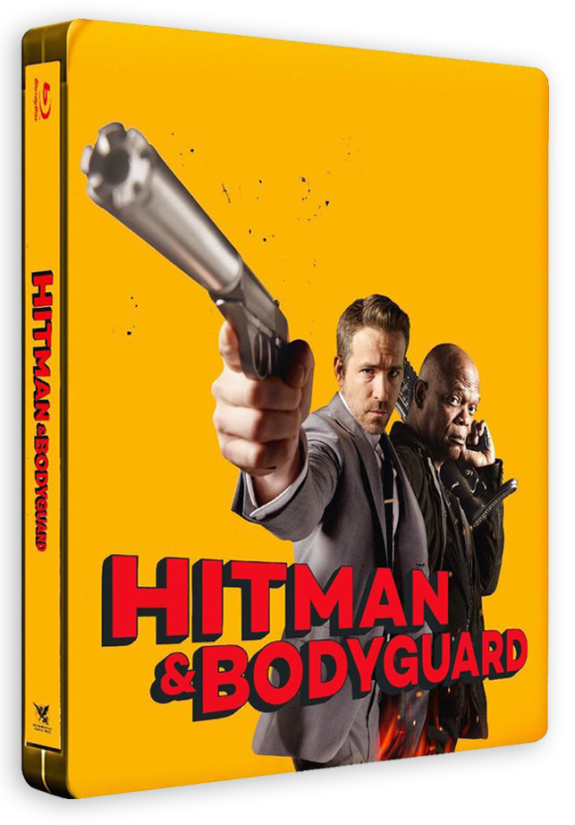 Hitman & Bodyguard (Patrick Hughes, 2017) - Blu-ray Steelbook