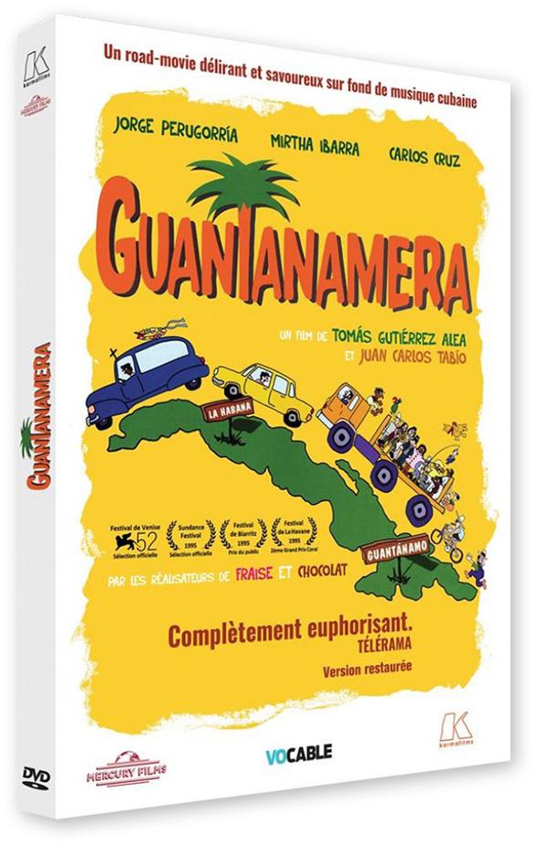 Guantanamera (Tomás Gutiérrez Alea et Juan Carlos Tabío, 1995) - DVD