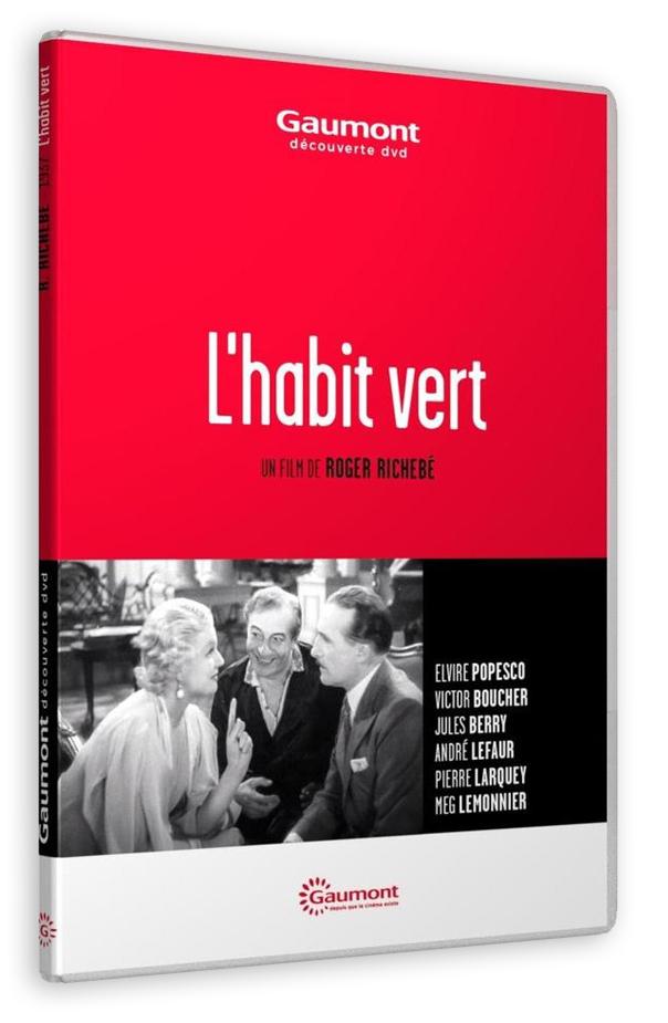 L'Habit vert (Roger Richebé, 1937) - DVD
