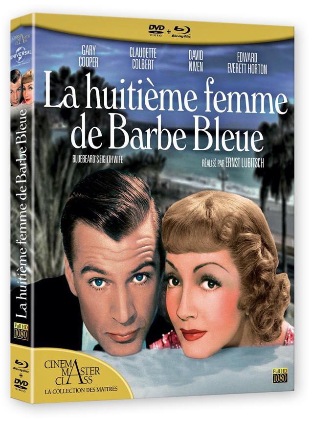 La Huitième femme de Barbe-bleue (Ernst Lubitsch, 1938) - DVD/BD
