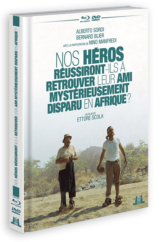 Nos héros réussiront-ils à retrouver leur ami mystérieusement disparu en Afrique ? (Ettore Scola, 1968) - DVD/Blu-ray