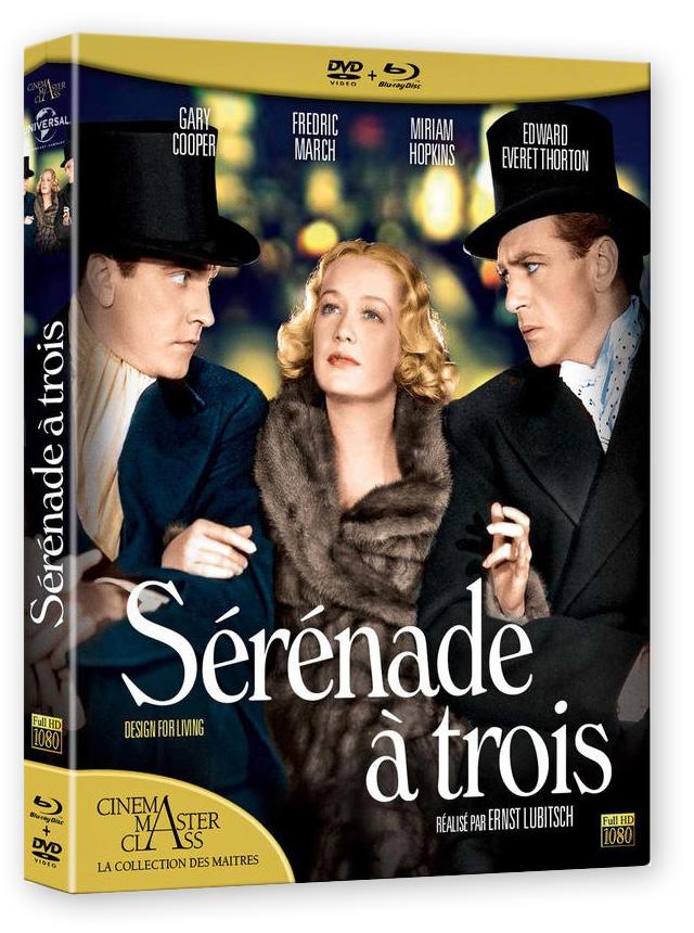 Sérénade à trois (Ernst Lubitsch, 1933) - DVD/BD