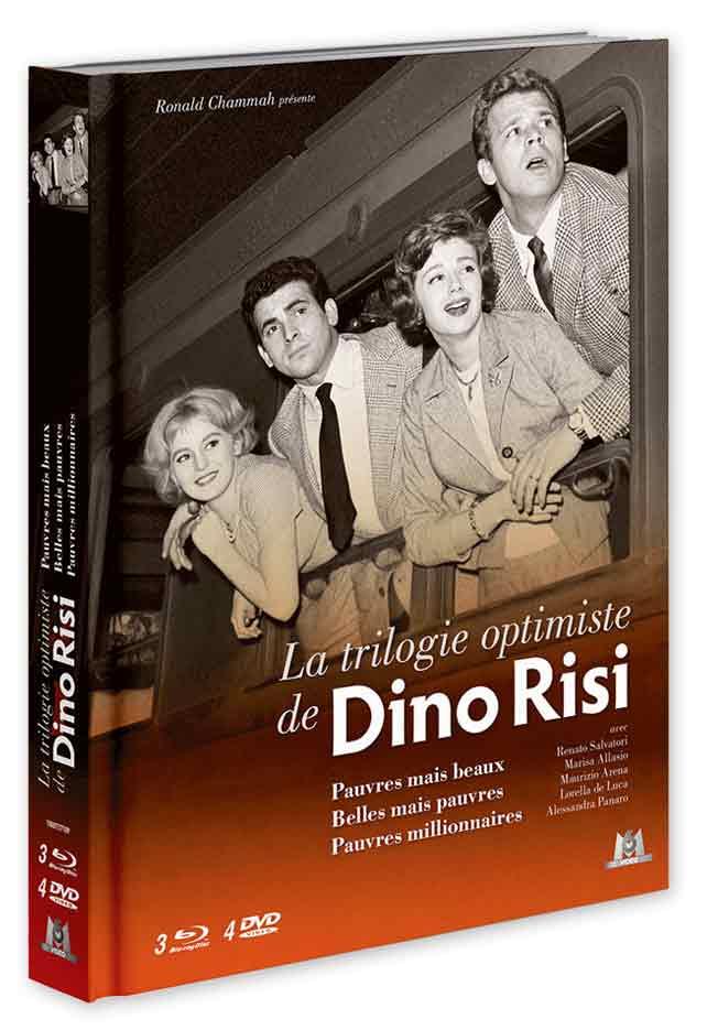 Trilogie optimiste de Dino Risi : Pauvres mais beaux + Belles mais pauvres + Pauvres millionnaires (M6 Vidéo)