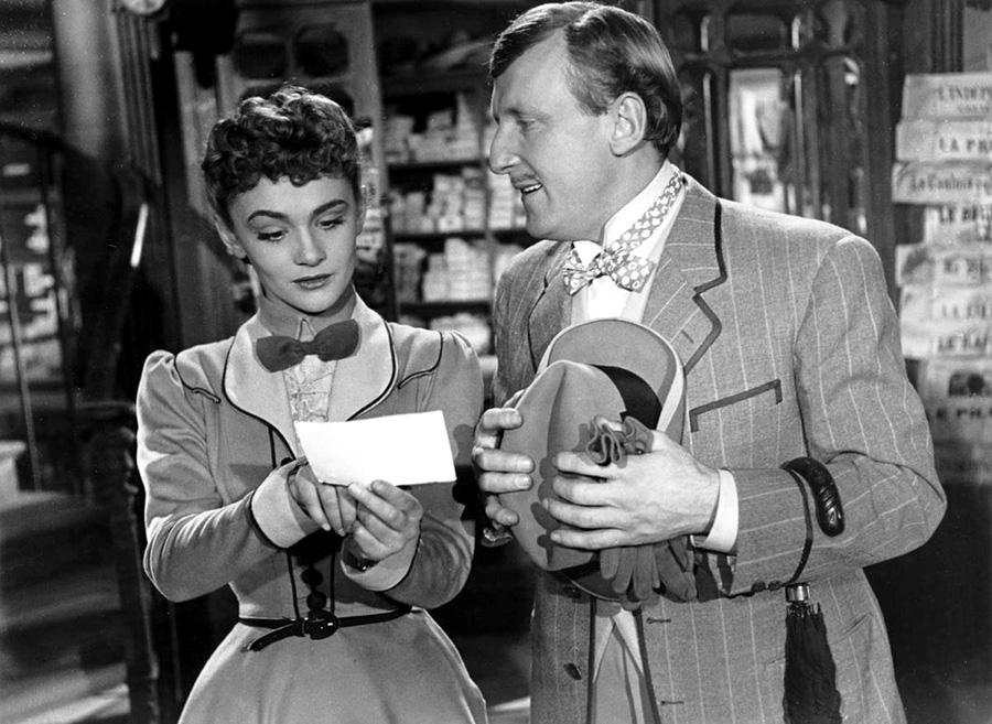Danièle Delorme et Bourvil dans Miquette et sa mère (Henri-Georges Clouzot, 1950)