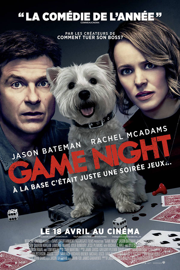 Game Night (Jonathan Goldstein et John Francis Daley, 2018)