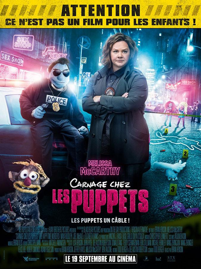 Carnage chez les puppets (The Happytime Murders) de Brian Henson (2018)