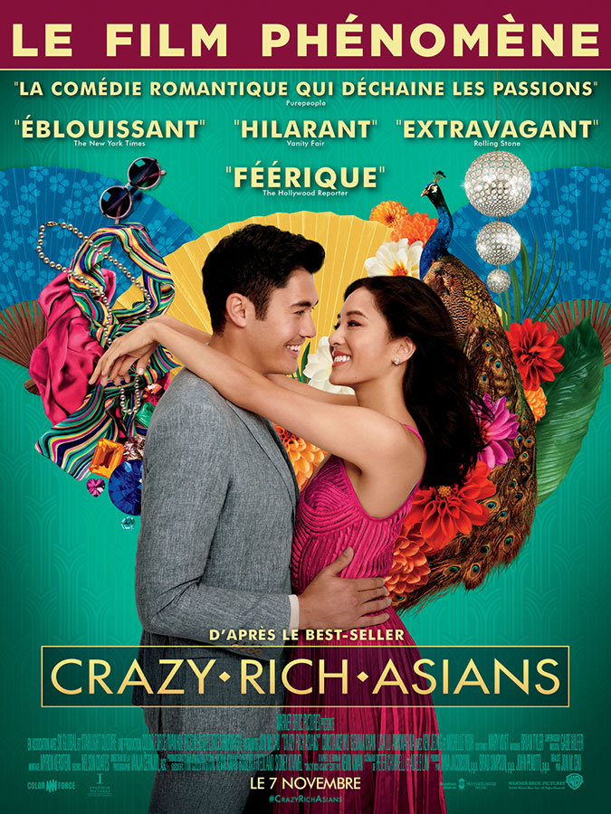 Crazy Rich Asians (Jon M. Chu, 2018)