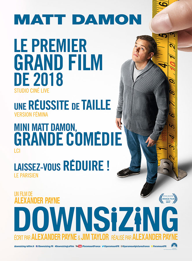 Downsizing (Alexander Payne, 2018)