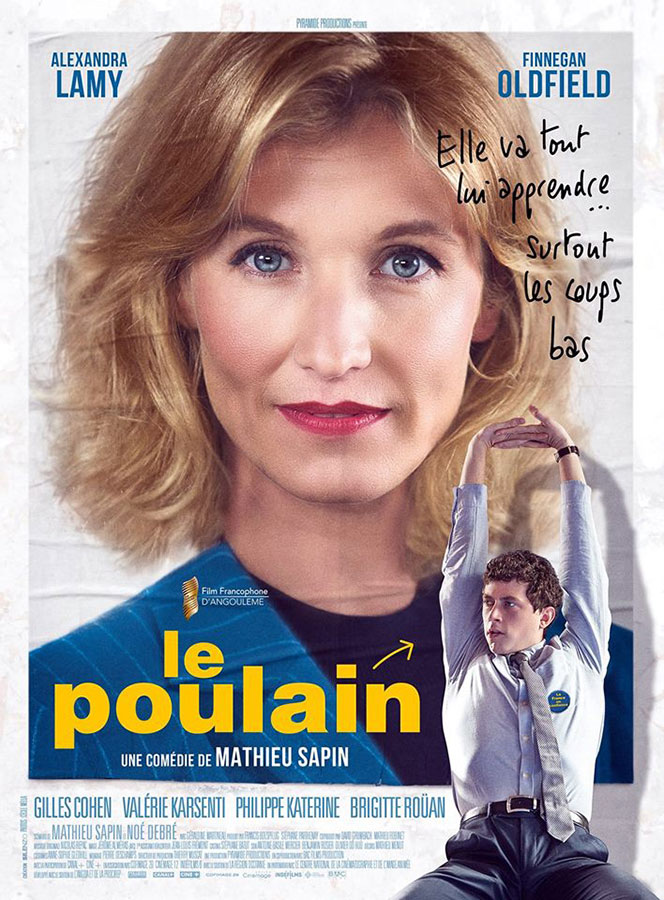 Le Poulain (Mathieu Sapin, 2018)