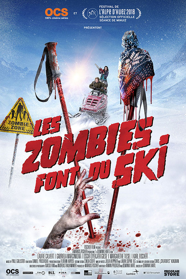 Les Zombies font du ski (Dominik Hartl, 2018)