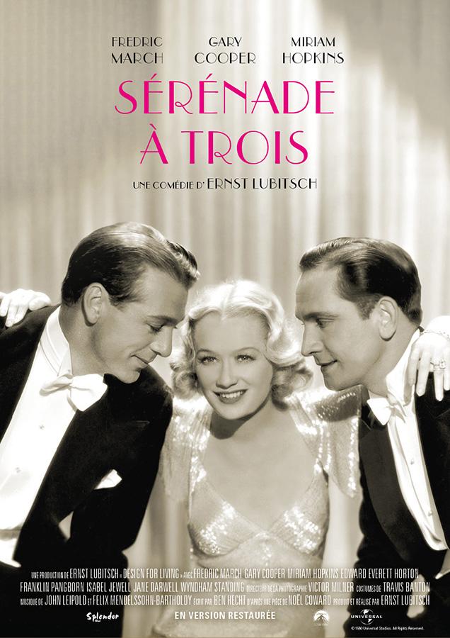 Sérénade à trois (Ernst Lubitsch, 1933)