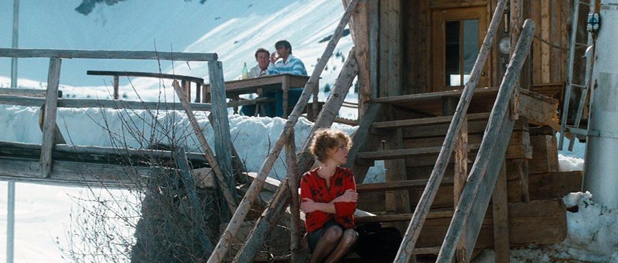 Coluche, Thierry Lhermitte et Isabelle Huppert dans La Femme de mon pote (Bertrand Blier, 1983)
