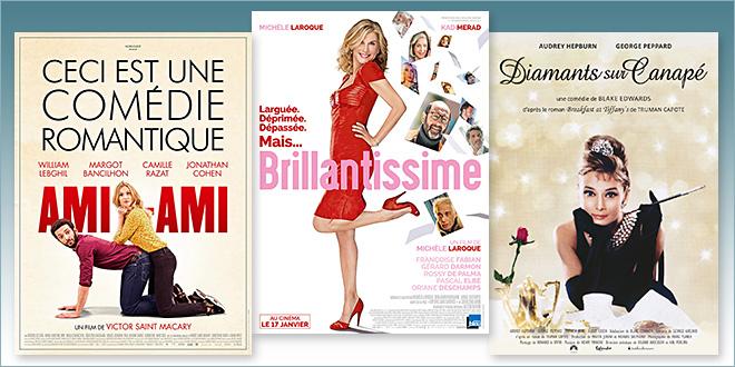 sorties Comédie du 17 janvier 2018 : Ami-ami, Brillantissime, Diamants sur canapé (reprise 1961)