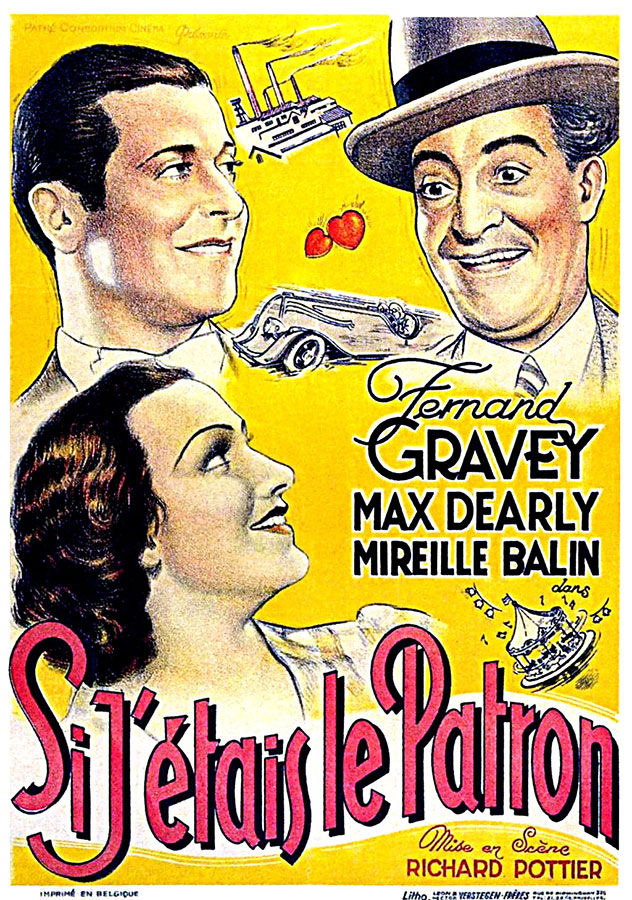 Si j'étais le patron (Richard Pottier, 1934)