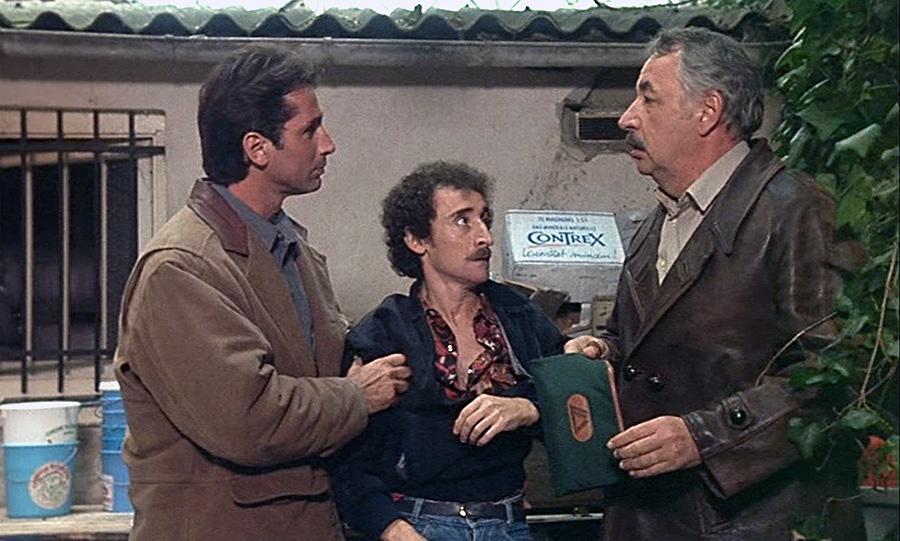 Thierry Lhermitte, Michel Crémadès et Philippe Noiret dans Ripoux contre Ripoux (Claude Zidi, 1989)