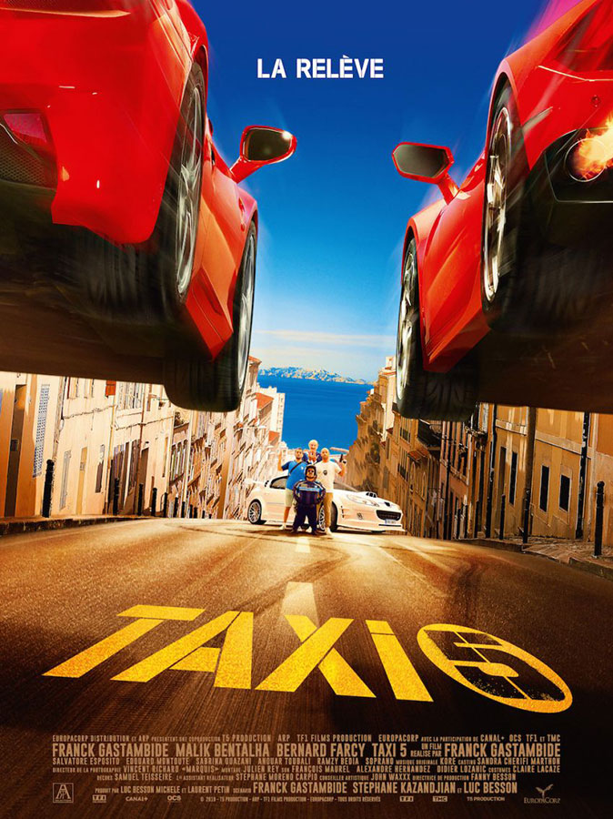 Taxi 5 (Franck Gastambide, 2018