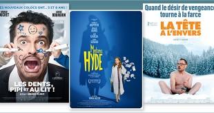 sorties Comédie du 28 mars 2018 : Les dents, pipi et au lit !, Madame Hyde, La Tête à l'envers