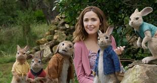 Rose Byrne dans Pierre Lapin (Will Gluck, 2018) - Box-office français du 4 au 10 avril 2018