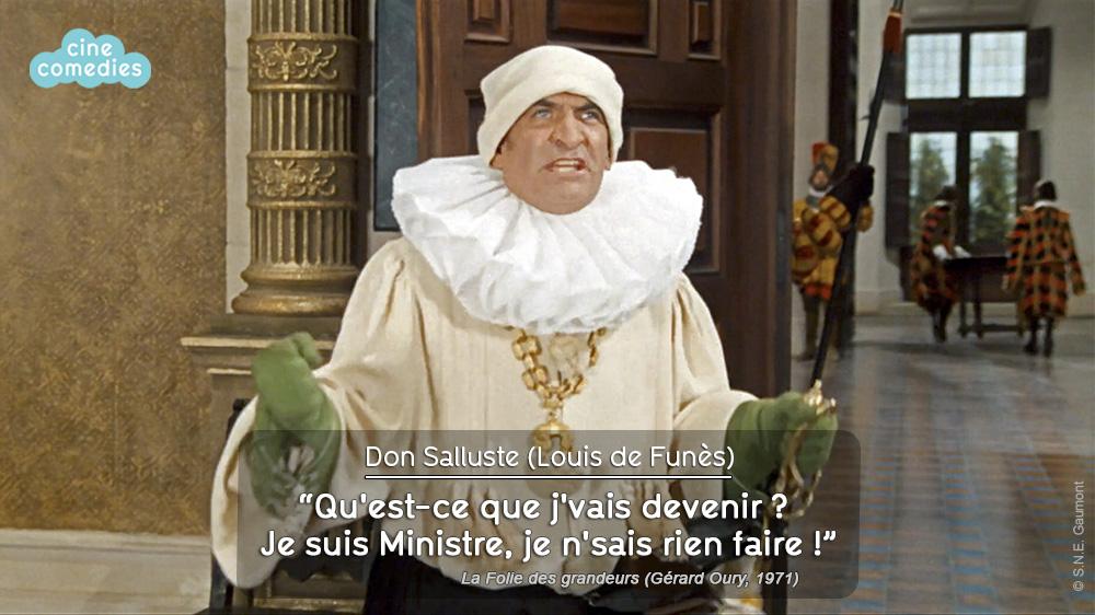 La Folie des grandeurs (Gérard Oury, 1971) - réplique 1